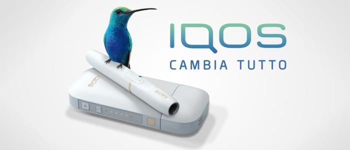 Il design colibrì, per la tecnologia IQOS