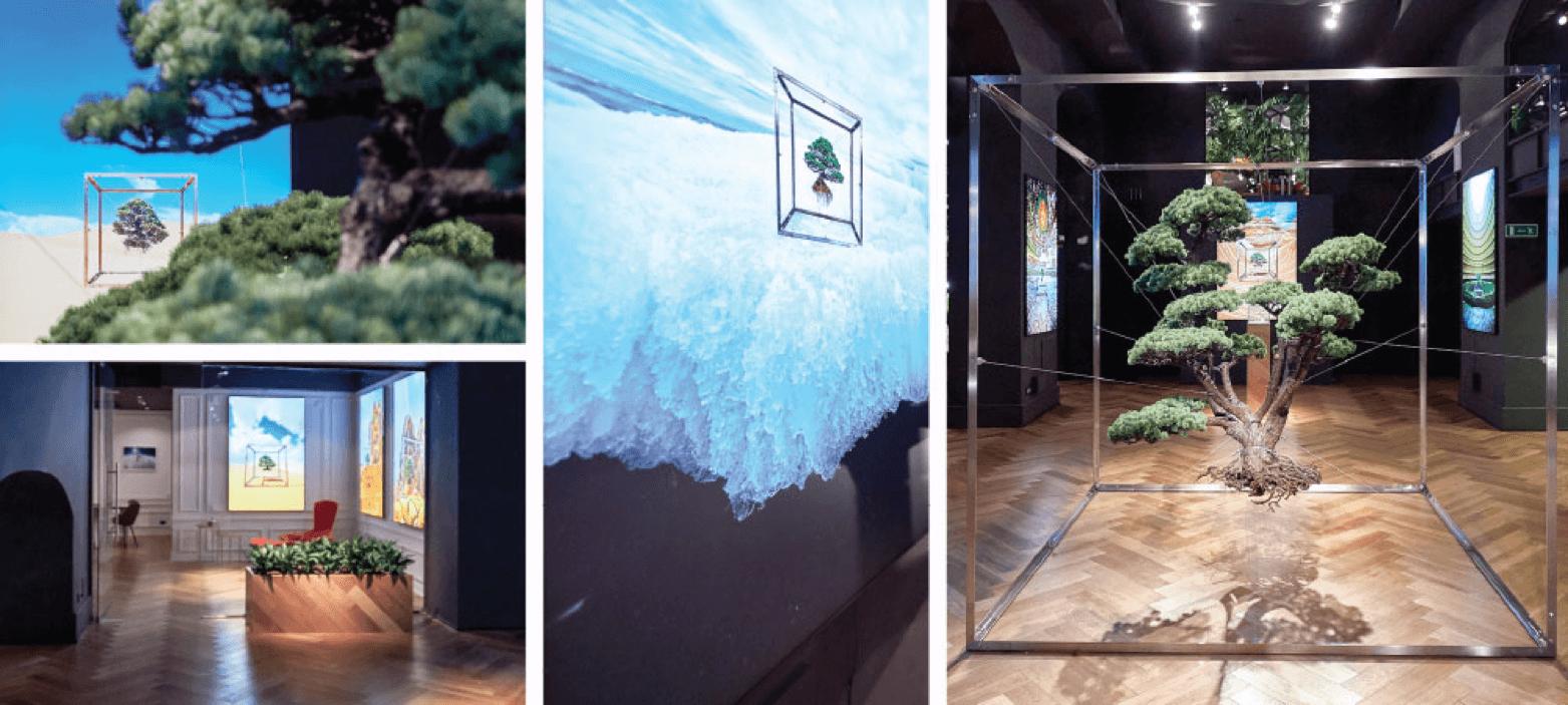 IQOS Embassy di Roma ospita l'arte floreale di Azuma Makoto