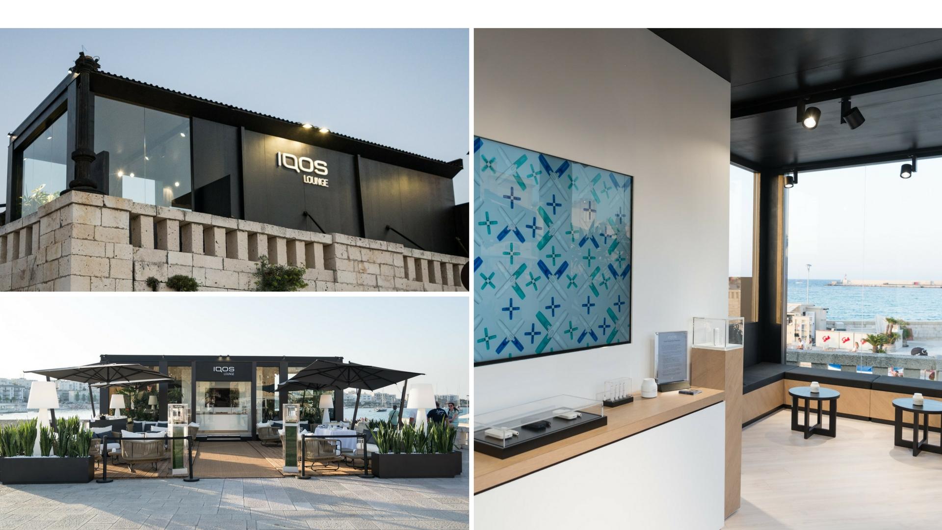 IQOS apre una temporary lounge Otranto
