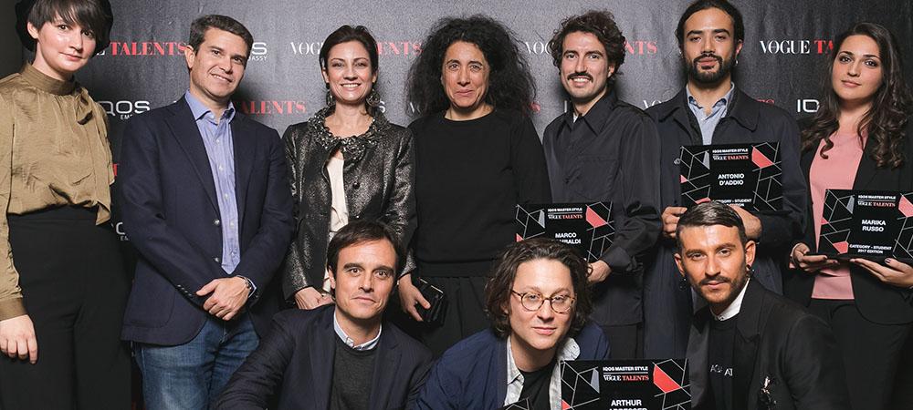AIl'IQOS Embassy di Milano la premiazione di IQOS MASTER STYLE