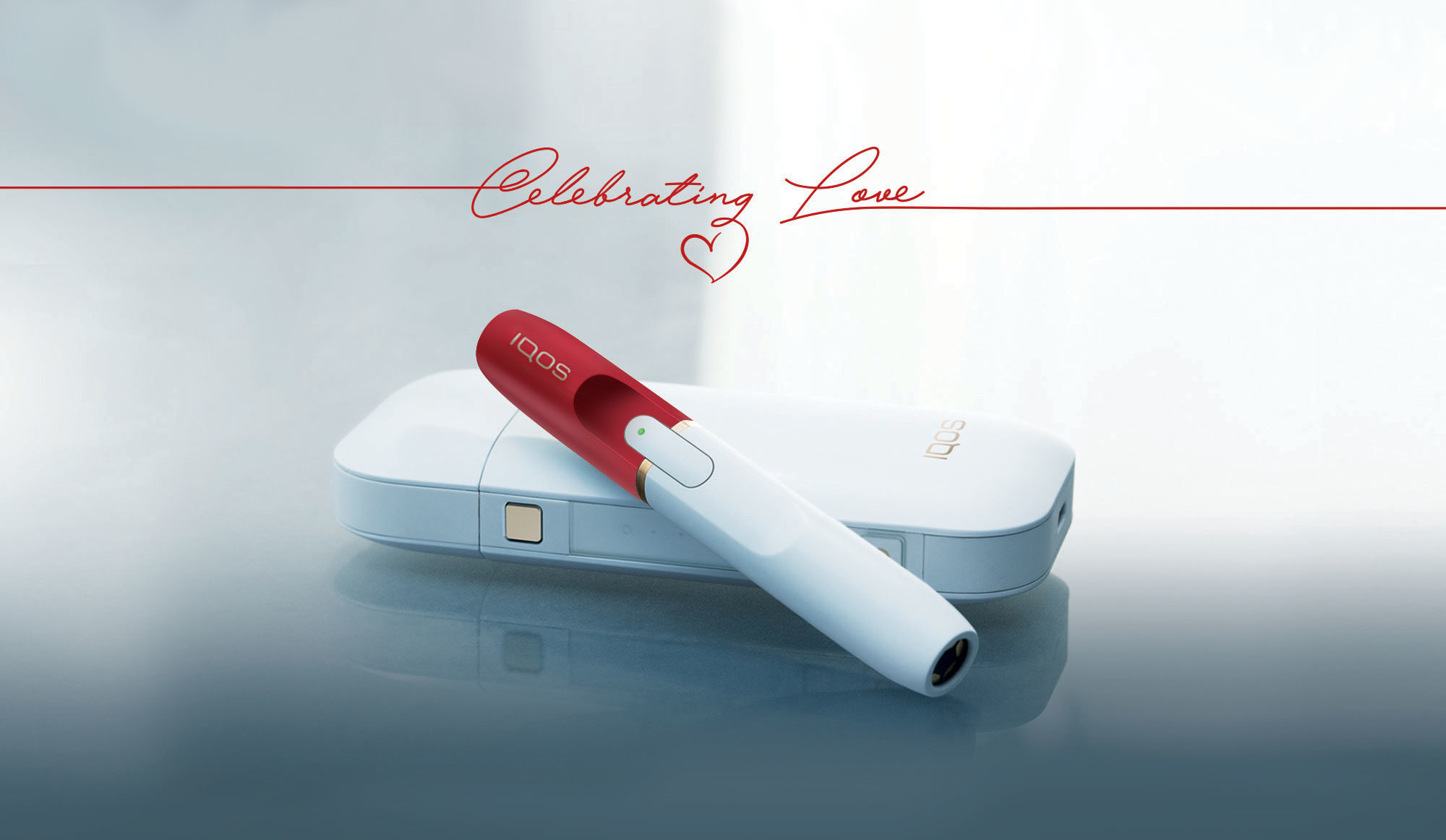 IQOS a San Valentino con Celebrating Love