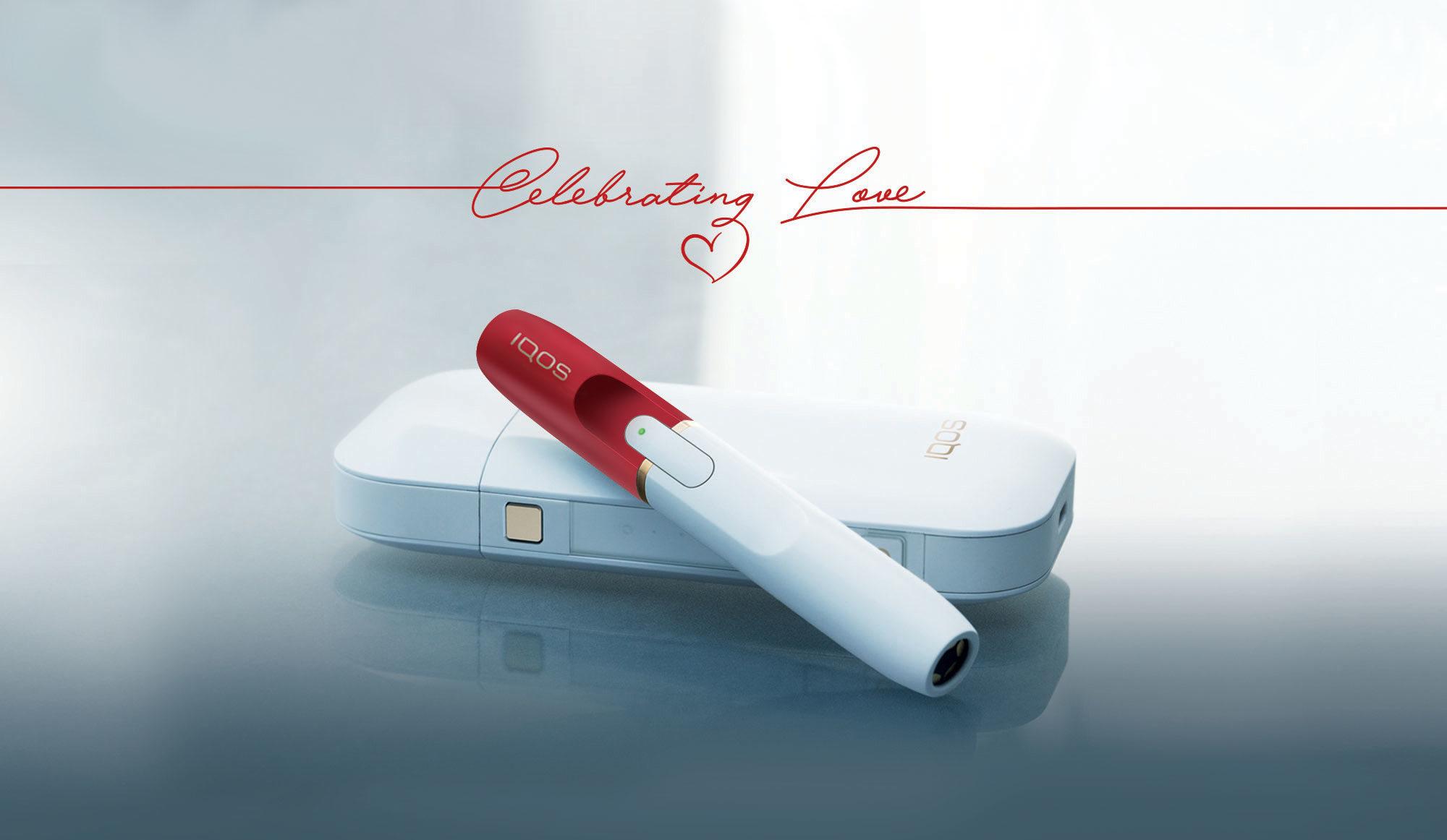 IQOS a San Valentino con Celebrating Love