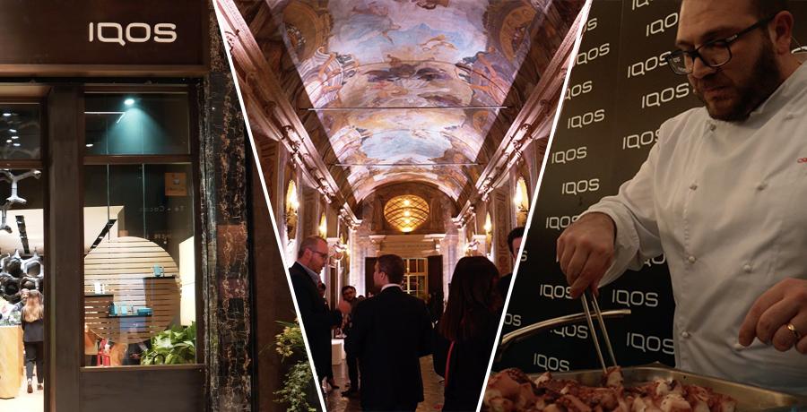 IQOS Embassy Bologna, lo showcooking alla temperatura ideale ispirato all' Heat Control Technology