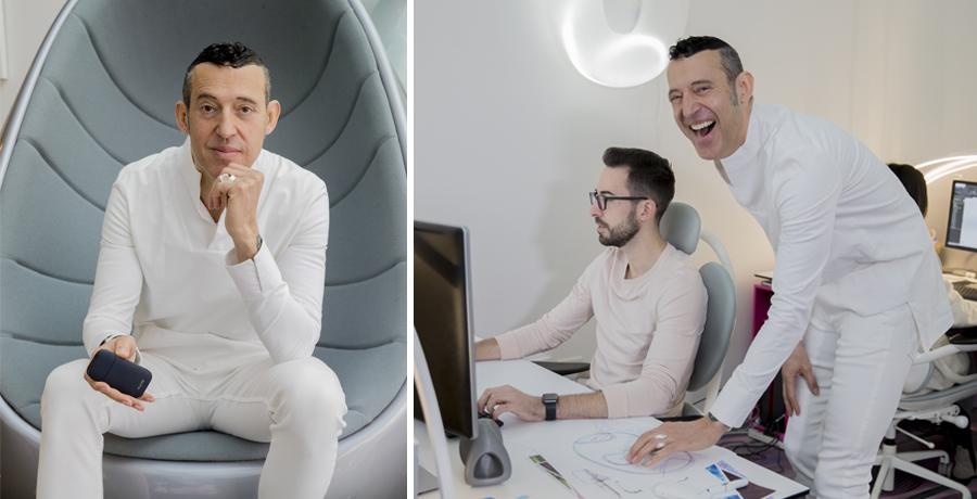 IQOS Milan Design Week. Karim Rashid e la sua installazione ispirata a un futuro senza fumo