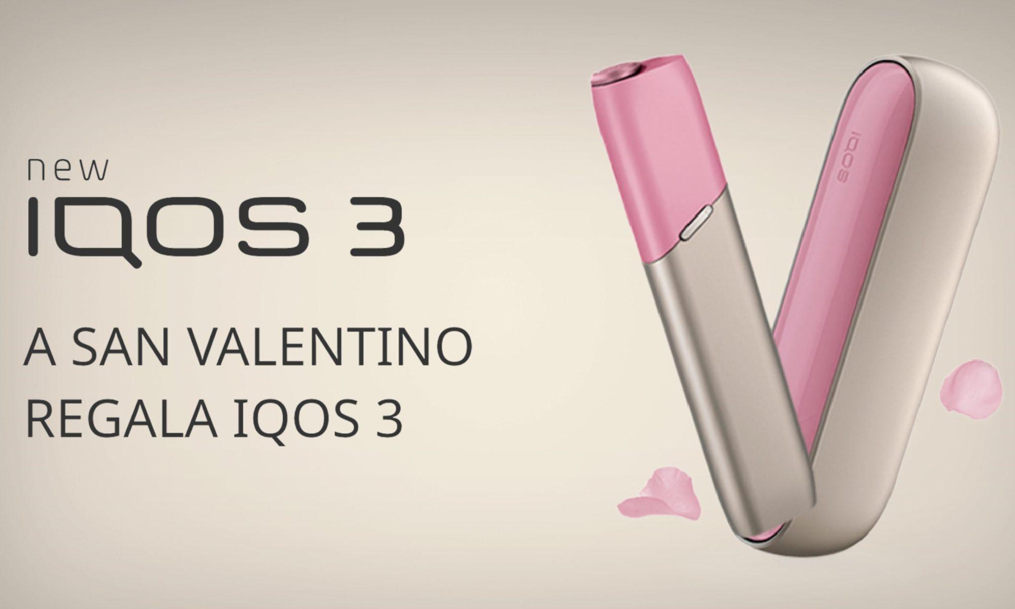A San Valentino regala IQOS - l'idea regalo per veri innamorati